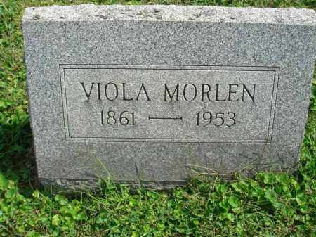 MORLEN, VIOLA - Fairfield County, Ohio | VIOLA MORLEN - Ohio Gravestone Photos
