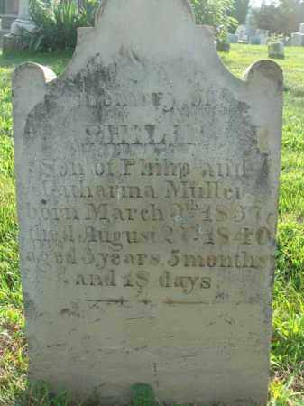 MULLER, PHILIP - Fairfield County, Ohio | PHILIP MULLER - Ohio Gravestone Photos