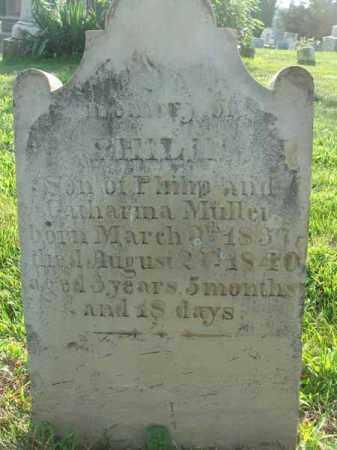 MULLER, PHILIP - Fairfield County, Ohio   PHILIP MULLER - Ohio Gravestone Photos