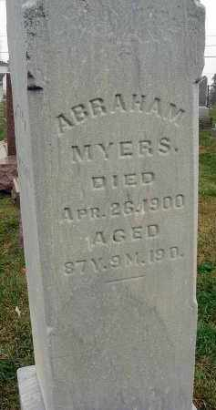 MYERS, ABRAHAM - Fairfield County, Ohio | ABRAHAM MYERS - Ohio Gravestone Photos