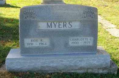 MYERS, CHARLOTTE C. - Fairfield County, Ohio | CHARLOTTE C. MYERS - Ohio Gravestone Photos