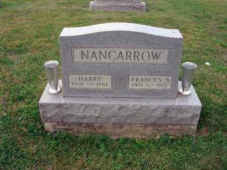 NANCARROW, FRANCES S. - Fairfield County, Ohio | FRANCES S. NANCARROW - Ohio Gravestone Photos