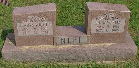 NEEL, JOHN WESLEY - Fairfield County, Ohio | JOHN WESLEY NEEL - Ohio Gravestone Photos