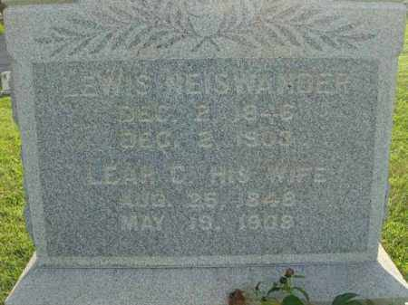 NEISWANDER, LEWIS - Fairfield County, Ohio | LEWIS NEISWANDER - Ohio Gravestone Photos