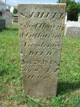 NICODEMUS, SAMUEL - Fairfield County, Ohio | SAMUEL NICODEMUS - Ohio Gravestone Photos