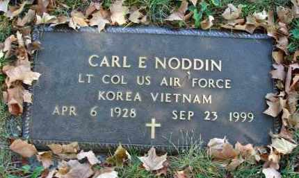 NODDIN, CARL E. - Fairfield County, Ohio | CARL E. NODDIN - Ohio Gravestone Photos
