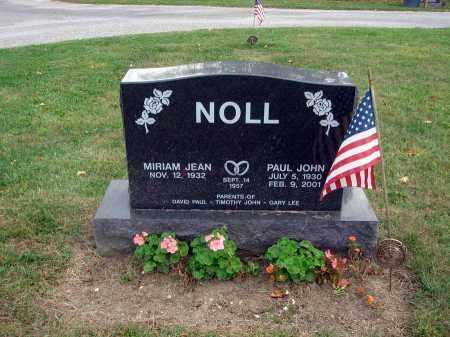 NOLL, PAUL JOHN - Fairfield County, Ohio | PAUL JOHN NOLL - Ohio Gravestone Photos