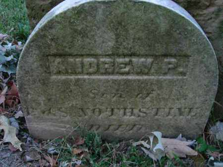 NOTHSTINE, ANDREW P. - Fairfield County, Ohio | ANDREW P. NOTHSTINE - Ohio Gravestone Photos