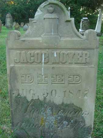 NOYER, JACOB - Fairfield County, Ohio | JACOB NOYER - Ohio Gravestone Photos