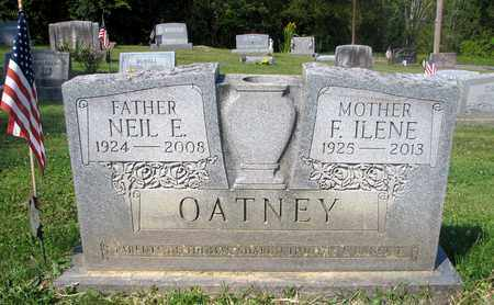 REED OATNEY, F. ILENE - Fairfield County, Ohio | F. ILENE REED OATNEY - Ohio Gravestone Photos