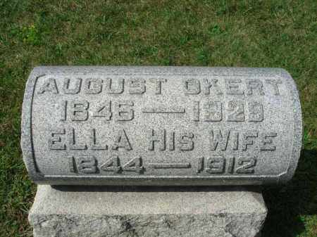 OKERT, AUGUST - Fairfield County, Ohio | AUGUST OKERT - Ohio Gravestone Photos