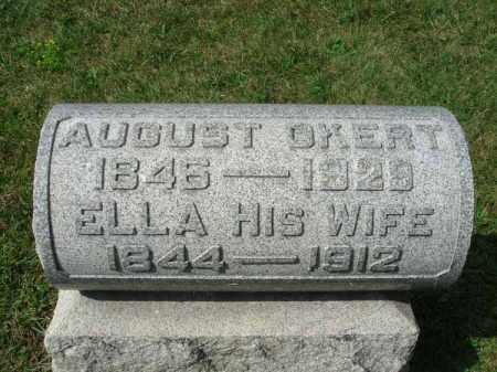 OKERT, ELLA - Fairfield County, Ohio | ELLA OKERT - Ohio Gravestone Photos