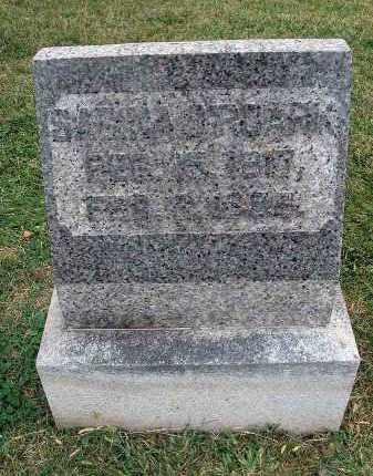 O'ROARK, SABINA - Fairfield County, Ohio   SABINA O'ROARK - Ohio Gravestone Photos