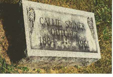 OUTCALT, CALLIE JANE - Fairfield County, Ohio | CALLIE JANE OUTCALT - Ohio Gravestone Photos