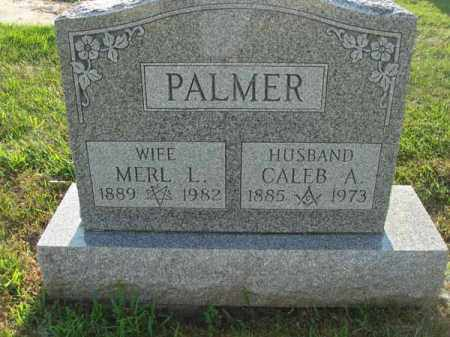 PALMER, MERL L. - Fairfield County, Ohio | MERL L. PALMER - Ohio Gravestone Photos