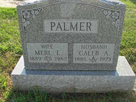 PALMER, CALEB A. - Fairfield County, Ohio | CALEB A. PALMER - Ohio Gravestone Photos