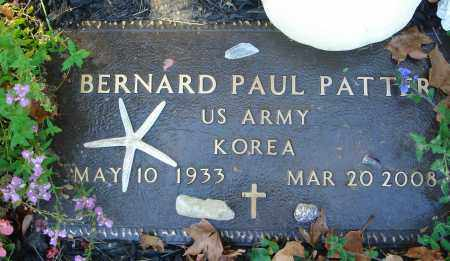 PATTER, BERNARD PAUL - Fairfield County, Ohio | BERNARD PAUL PATTER - Ohio Gravestone Photos