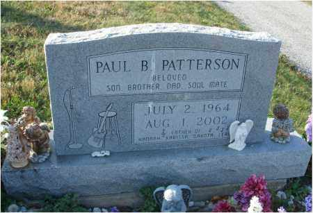 PATTERSON, PAUL B. - Fairfield County, Ohio | PAUL B. PATTERSON - Ohio Gravestone Photos