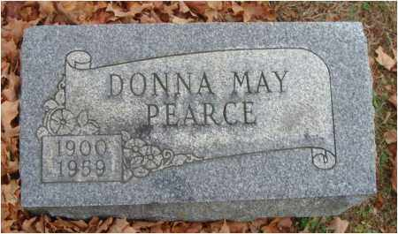 PEARCE, DONNA MAY - Fairfield County, Ohio | DONNA MAY PEARCE - Ohio Gravestone Photos