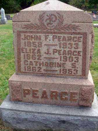 PEARCE, JOHN F. - Fairfield County, Ohio | JOHN F. PEARCE - Ohio Gravestone Photos