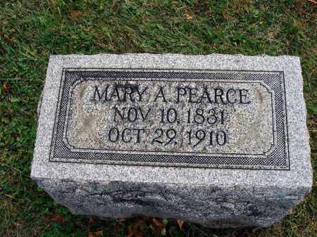 PEARCE, MARY A. - Fairfield County, Ohio | MARY A. PEARCE - Ohio Gravestone Photos