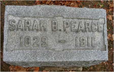 PEARCE, SARAH B. - Fairfield County, Ohio | SARAH B. PEARCE - Ohio Gravestone Photos
