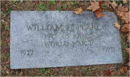 PEARCE, WILLIAM H. - Fairfield County, Ohio | WILLIAM H. PEARCE - Ohio Gravestone Photos