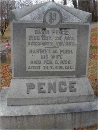 PENCE, DAVID - Fairfield County, Ohio | DAVID PENCE - Ohio Gravestone Photos
