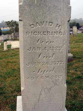 PICKERING, DAVID H. - Fairfield County, Ohio | DAVID H. PICKERING - Ohio Gravestone Photos