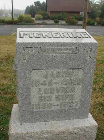 PICKERING, LOUVINA - Fairfield County, Ohio | LOUVINA PICKERING - Ohio Gravestone Photos