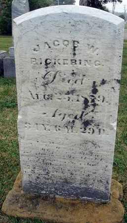 PICKERING, JACOB W. - Fairfield County, Ohio | JACOB W. PICKERING - Ohio Gravestone Photos