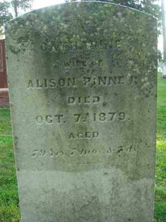 PINNEY, CATHARINE - Fairfield County, Ohio | CATHARINE PINNEY - Ohio Gravestone Photos