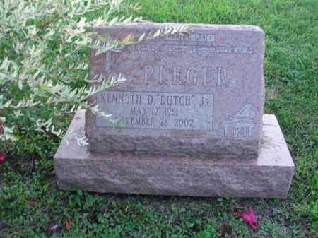 "PLEGER, KENNETH D. ""DUTCH"" - Fairfield County, Ohio 
