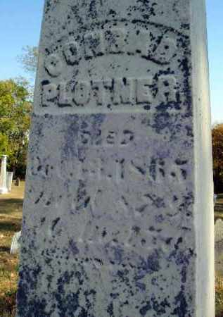 PLOTNER, CONRAD - Fairfield County, Ohio | CONRAD PLOTNER - Ohio Gravestone Photos