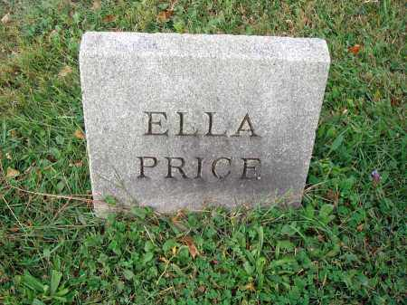 PRICE, ELLA - Fairfield County, Ohio | ELLA PRICE - Ohio Gravestone Photos