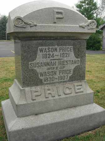 PRICE, WASON - Fairfield County, Ohio | WASON PRICE - Ohio Gravestone Photos
