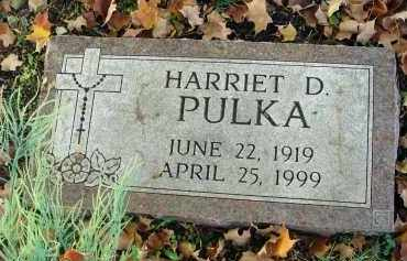 PULKA, HARRIET D. - Fairfield County, Ohio | HARRIET D. PULKA - Ohio Gravestone Photos