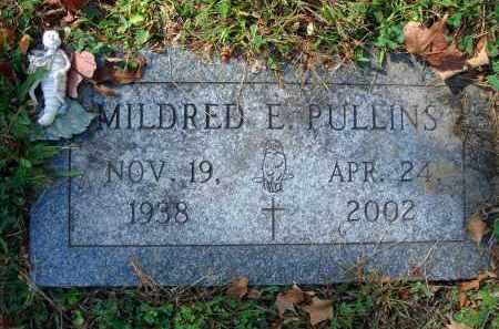 PULLINS, MILDRED E. - Fairfield County, Ohio | MILDRED E. PULLINS - Ohio Gravestone Photos