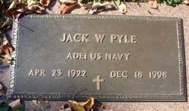 PYLE, JACK W. - Fairfield County, Ohio | JACK W. PYLE - Ohio Gravestone Photos