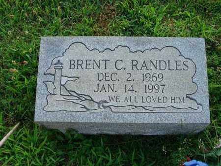 RANDLES, BRENT C. - Fairfield County, Ohio | BRENT C. RANDLES - Ohio Gravestone Photos