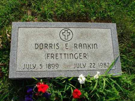 RANKIN, DORRIS E. - Fairfield County, Ohio | DORRIS E. RANKIN - Ohio Gravestone Photos