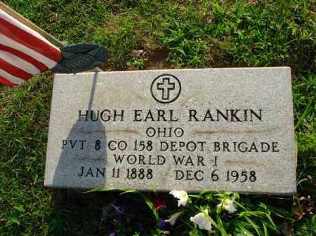 RANKIN, HUGH EARL - Fairfield County, Ohio | HUGH EARL RANKIN - Ohio Gravestone Photos