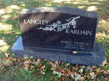 RARDAIN, ROBERT WESLEY - Fairfield County, Ohio | ROBERT WESLEY RARDAIN - Ohio Gravestone Photos