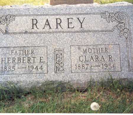 RAREY, HERBERT E. - Fairfield County, Ohio | HERBERT E. RAREY - Ohio Gravestone Photos