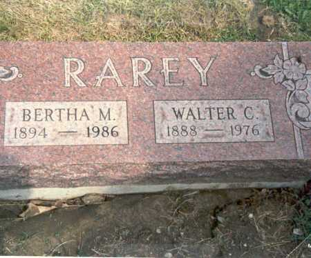 RAREY, WALTER C. - Fairfield County, Ohio | WALTER C. RAREY - Ohio Gravestone Photos