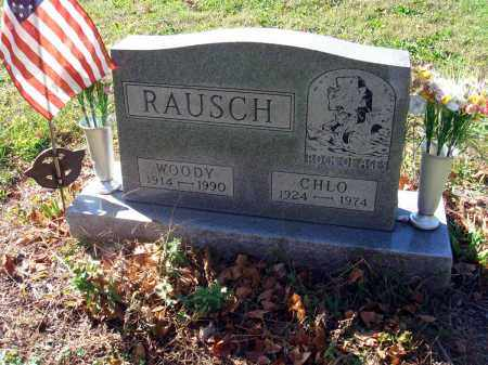 RAUSCH, WOODROW H. - Fairfield County, Ohio | WOODROW H. RAUSCH - Ohio Gravestone Photos