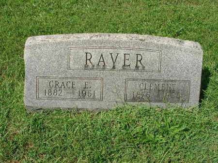 RAVER, CLEMENT - Fairfield County, Ohio | CLEMENT RAVER - Ohio Gravestone Photos