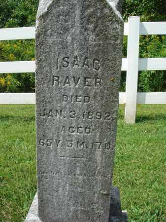 RAVER, ISAAC - Fairfield County, Ohio | ISAAC RAVER - Ohio Gravestone Photos