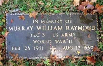 RAYMOND, MURRAY WILLIAM - Fairfield County, Ohio | MURRAY WILLIAM RAYMOND - Ohio Gravestone Photos