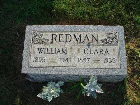 REDMAN, CLARA - Fairfield County, Ohio | CLARA REDMAN - Ohio Gravestone Photos
